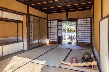 Crane months Castle tea room Lin Pavilion