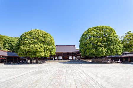 Meiji Jingu Shrine 写真素材 - 123680852