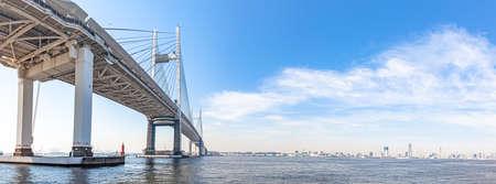Yokohama Bay Bridge Panorama