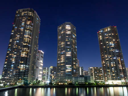 Tower apartment 写真素材