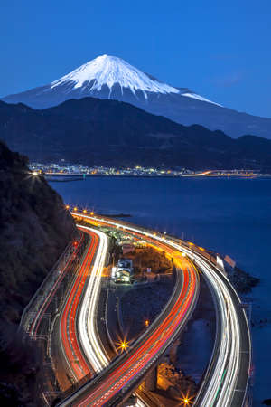 Mt. Fuji and Tomei Expressway