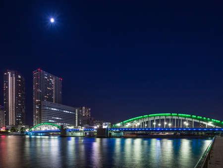 Kachidoki bridge 報道画像