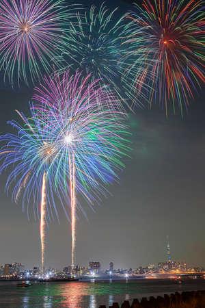 Koto Fireworks Festival 写真素材