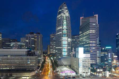 Shinjuku Station West Exit Night View