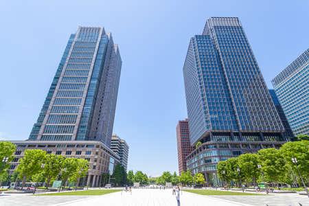 Tokyo Marunouchi Urban Landscape 写真素材