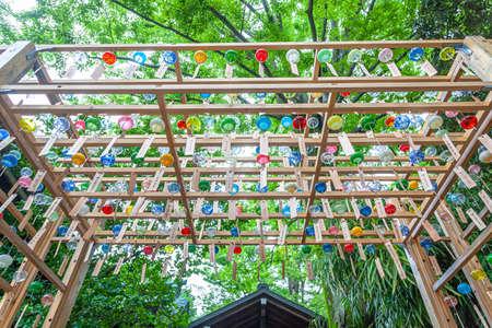 Kawagoe Hikawa Shrine Rim Musubi Wind Chime