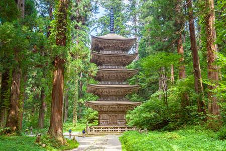 Haguro mountain pagoda