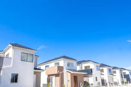Newly built house image 写真素材
