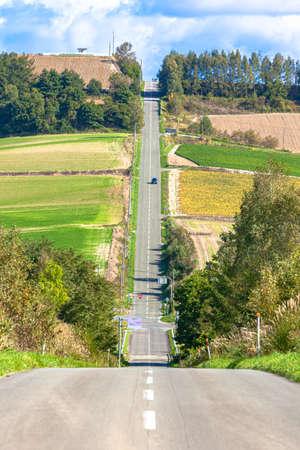 long road 写真素材