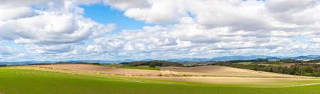 Hokkaido Biei Patchwork Hill Scenery