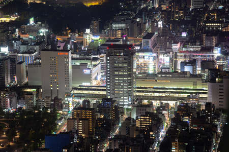 The night view of Tokyo from the Tokyo Sky Tree Observatory 報道画像