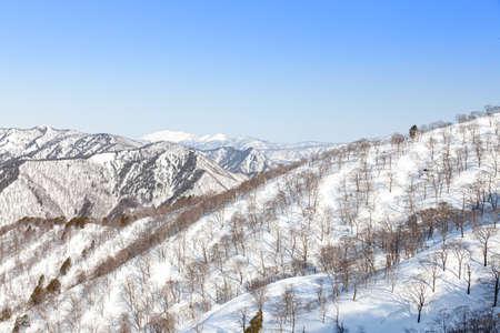 Tanigawadake Tenjindaira Ski Resort Фото со стока