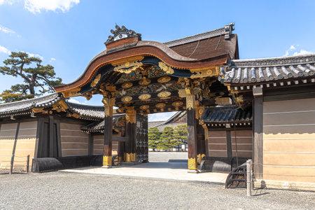Kyoto Nijo castle Редакционное