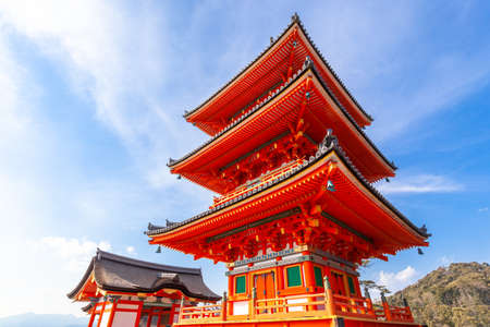 Kyoto Kiyomizudera Three-Storied Pagoda