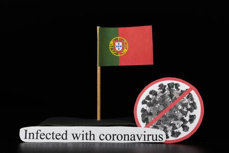Portugal was affected by coronavirus with type Covid-19. A serious illness that manifests as a flu but may break out in pneumonia. Coronavirus infected whole world. Epicentre in China, Italy, Korea.