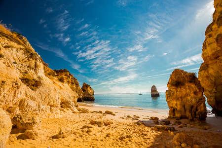 Praia do Camilo, Algarve, Portugal