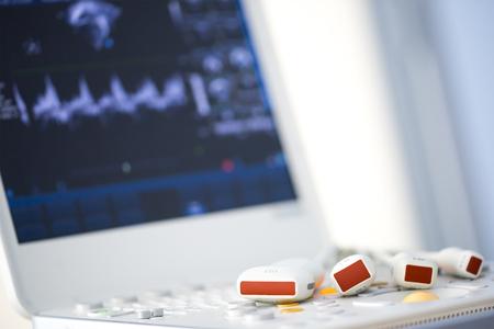 modern ultrasound machine Standard-Bild
