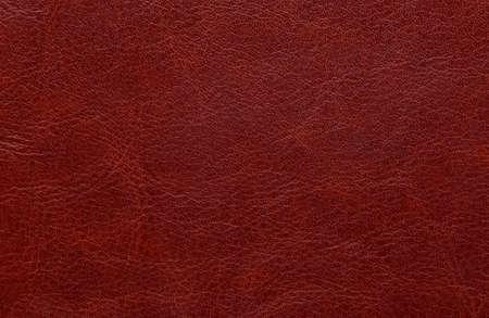Full frame shot of red leather background Standard-Bild