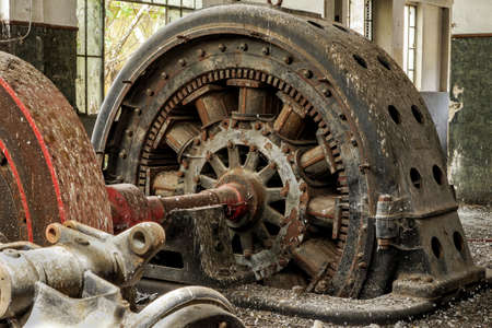 Old Alternator Stock Photo