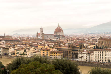 Awesome Cityscapes from Piazzale Michelangelo Lookout in Florence, Italy.