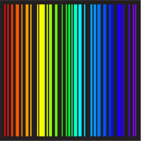 Background - stripes in rainbow colors Illustration