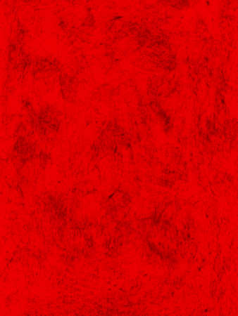 Red grungy hand-painted background with dark stains