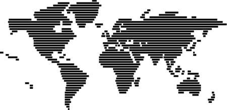 online logo: World map