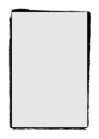 Grunge film frame edge / borders Standard-Bild