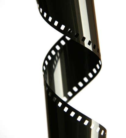 35 mm Film Stripe with reflection   shiny