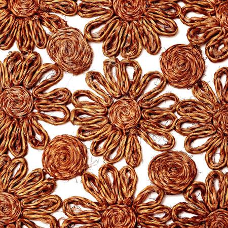 Stoff - Leinen Fabric Material Textur - Hintergrund Lizenzfreie Bilder