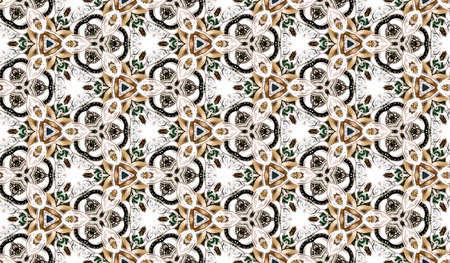 Abstrakte Nahtlose Bitmap Background Pattern - Textur Tile Schmuck