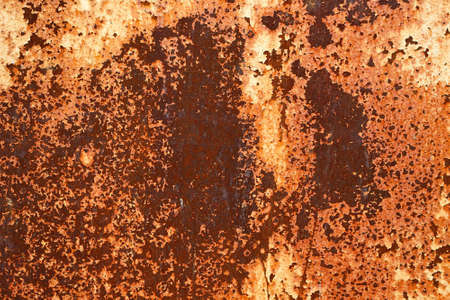 Rusted metal plates - grungy industrial construction background photo