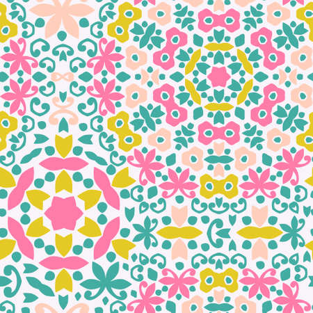 Perfect graphical seamless pattern. Geometrical texture maed in vector. Unique background for invitations, cards, websites. Vector