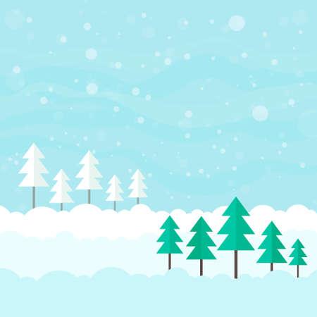 Winter card design.  Vector