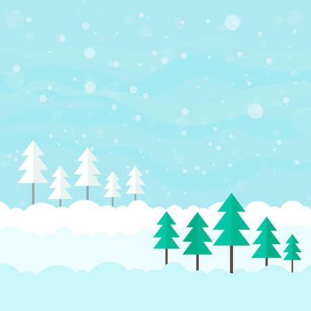 Winter card design.  Vector