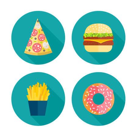 Fastfood icon design