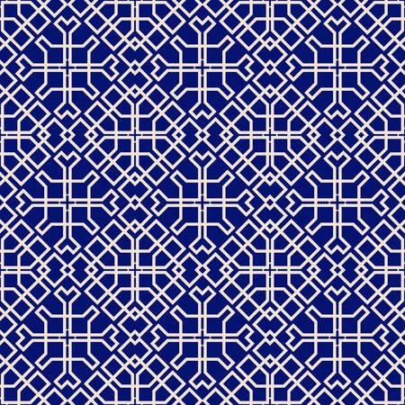 elegant background: Islamic seamless pattern. Based on ethnic ornaments. Elegant background for cards, invitations, web pages. Illustration