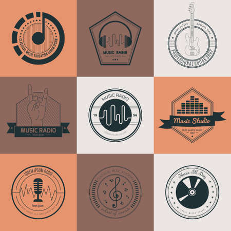 iconos de m�sica: Colecci�n de m�sica