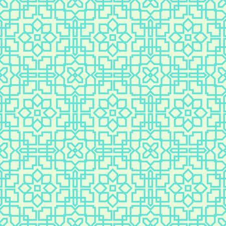 illustraion: Geometrical Arabic seamless pattern