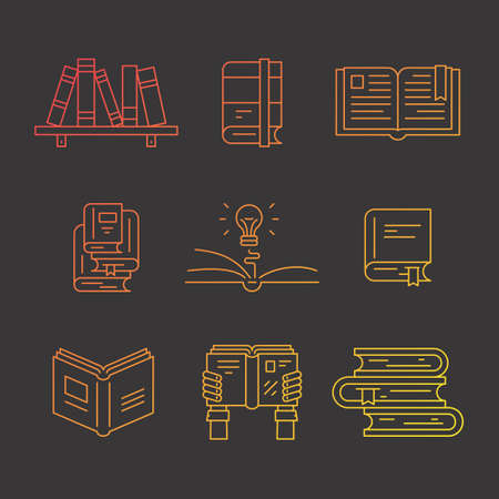 Beautiful Vector Symbols Of Education And Learning Process