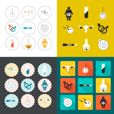 Perfect detailed baby icons made in vector Ilustração