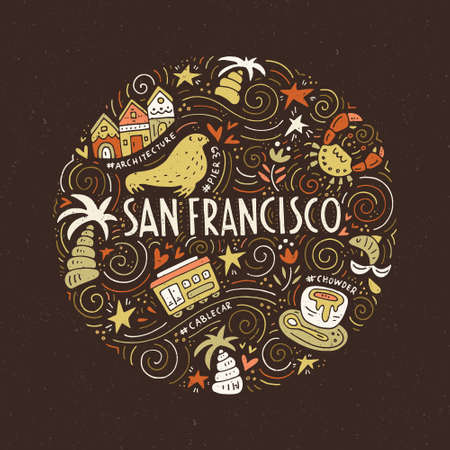 Symbols of San Fransisco