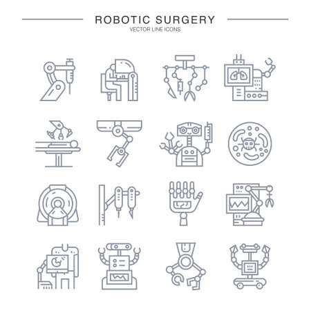 Robot icon illustration.