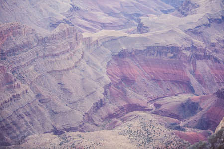 Scenic view of the canyon in the USA national park