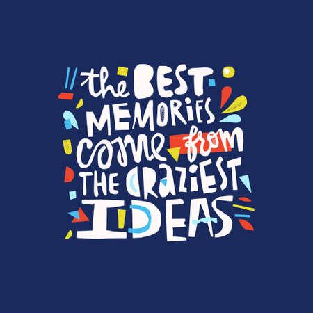Motivational cut out quote. Unusual design. Papercut lettering.