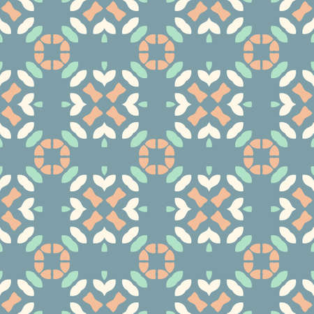 Perfect graphical seamless pattern. Geometrical texture made in vector. Unique background for invitations, cards, websites. Ilustrace