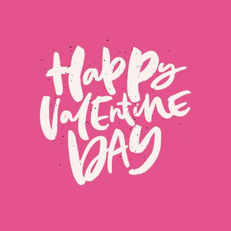 Valentine day greeting card design interesting quote black