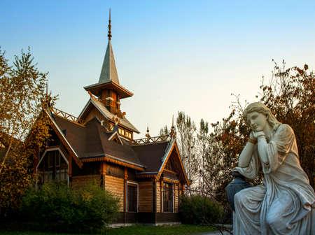 volga: Harbin Volga Manor view Editorial