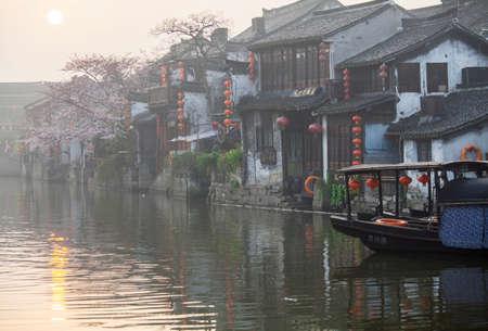 Xitang landschap Stockfoto - 47699241