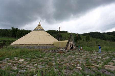mongolia: Inner Mongolia Mongolia camp Editorial